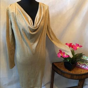 Jones of New York Gold Dress